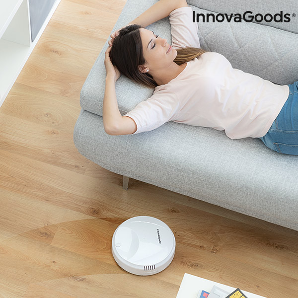 Robot Aspirateur Intelligent Rovac 1000 InnovaGoods Blanc