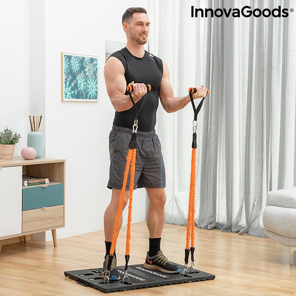 Integrated Portable Training System with Exercise Guide Gympak Max InnovaGoods