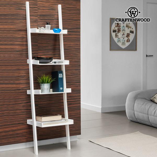 Craftenwood Tilted Wall Shelf (4-tier)