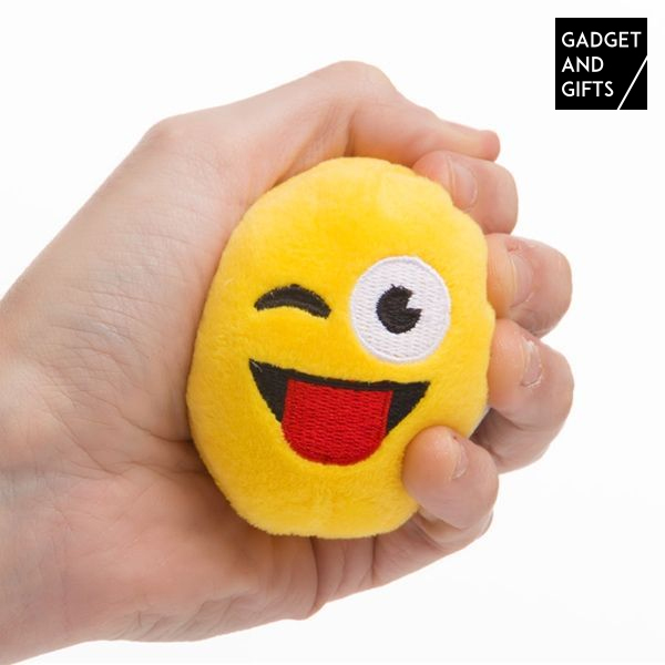 Emoticon Plush Ball