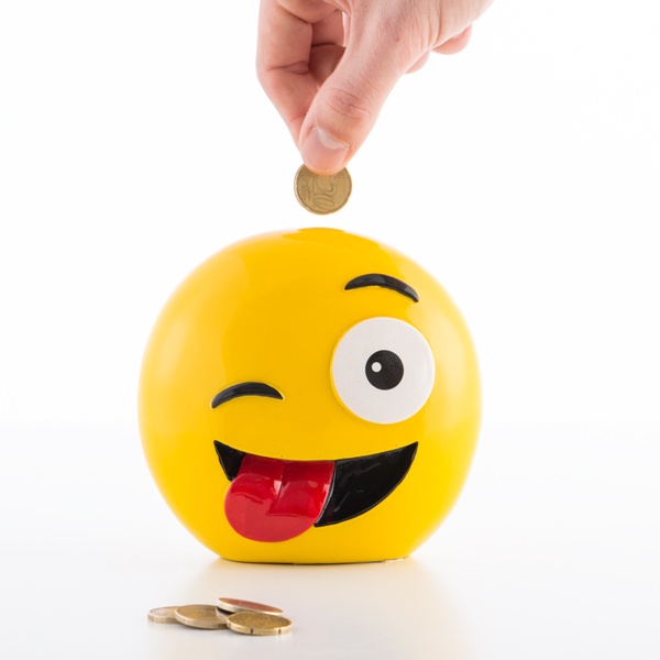 Emoticons Money Box