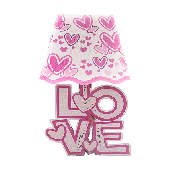Pegatina para Pared con LED Corazones Romantic Items (2)