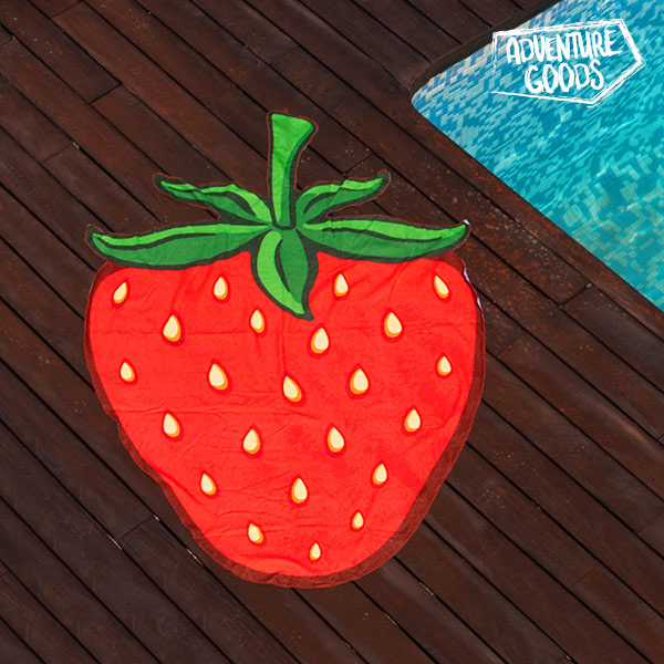Adventure Goods Strawberry Beach Towel