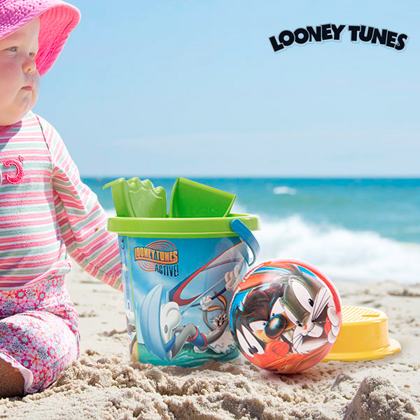 Looney Tunes Beach Game with Ball (5 pieces)