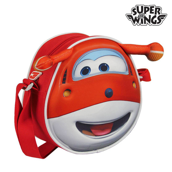 3D Super Wings Backpack