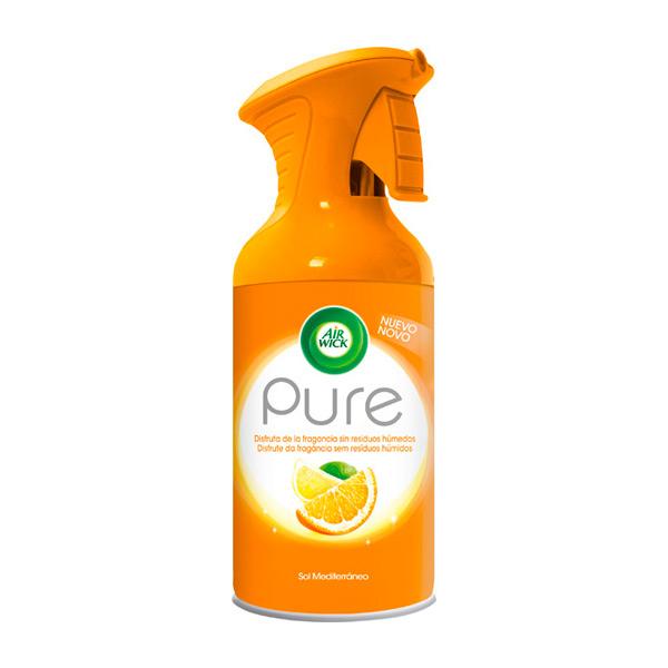 Spray Ambientador Air Wick Pure Sol Mediterráneo