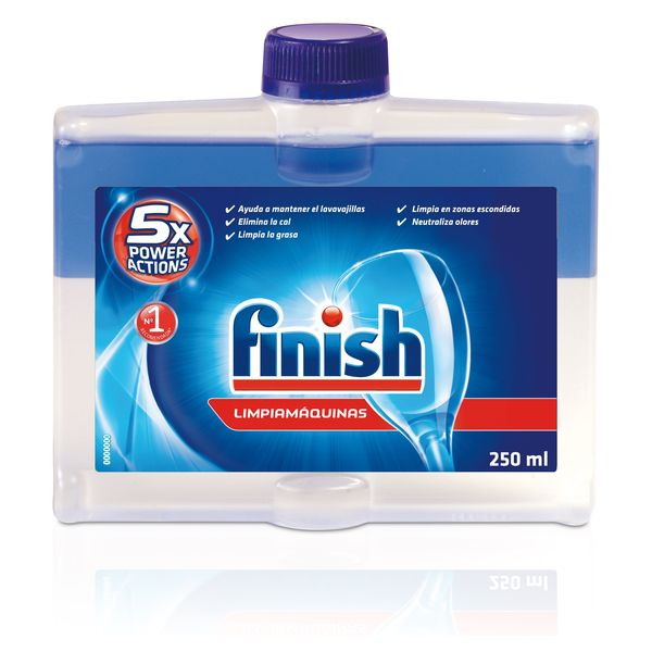 Limpiador de Lavavajillas Finish Regular 250 ml