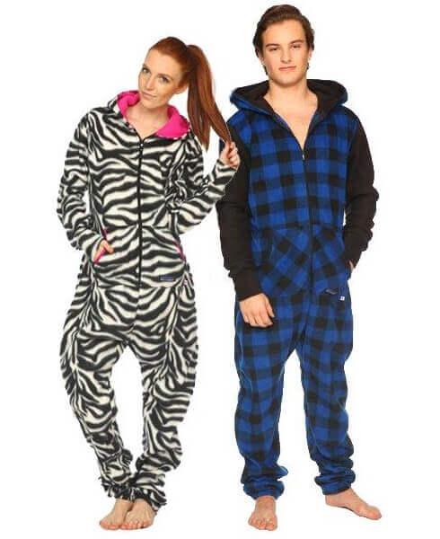 Pyjamas og ærmer tæpper