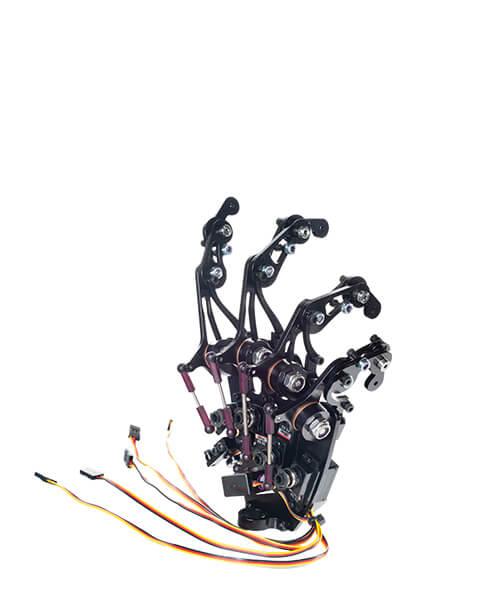 Componentes y accesorios de robótica