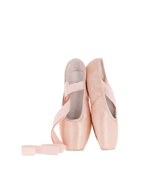 Zapatillas de danza y gimnasia