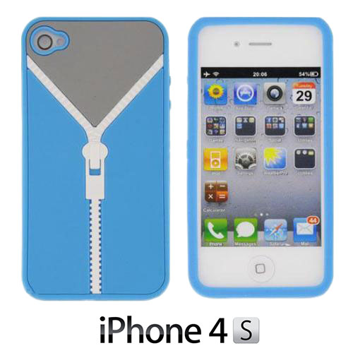 Silicone Etui Rits voor iPhone