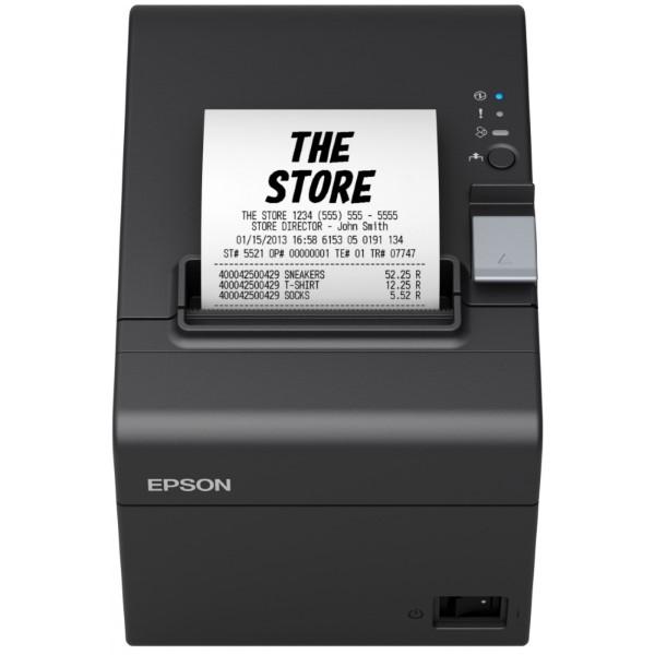 Impresora Térmica Epson TM-T20III 250 mm/s 203 ppp Negro