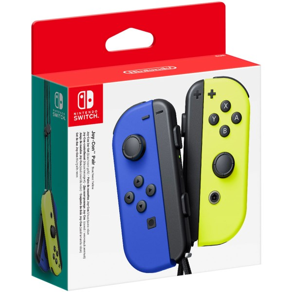 Wireless Gamepad Nintendo Joy-Con Blue Yellow