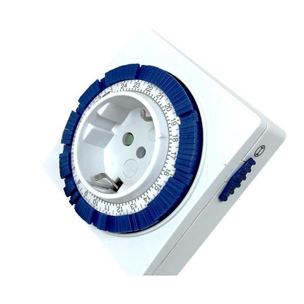 Temporizador Silver Electronics 3600W Blanco
