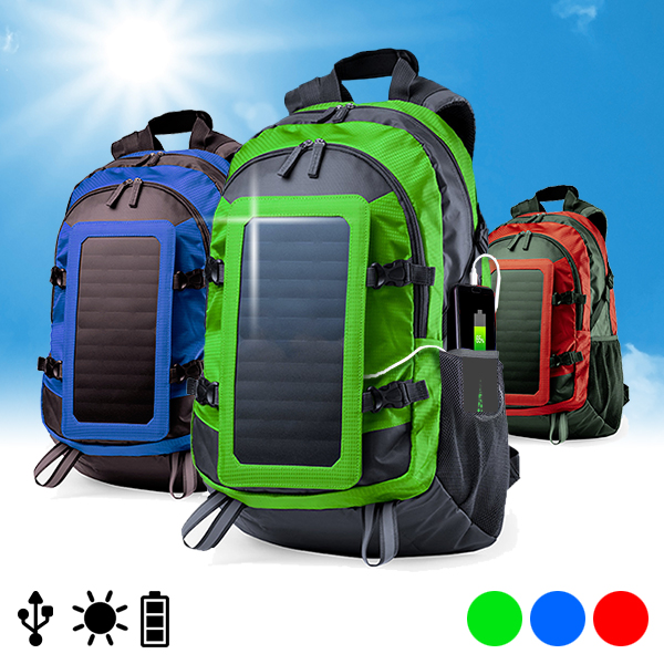Backpack Charger with Solar Panel  6.5W 146329