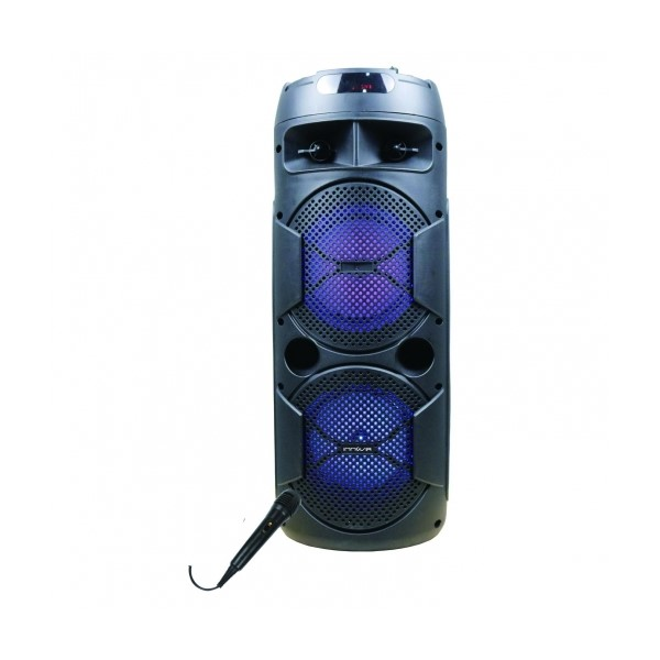 Altavoz Bluetooth con Micrófono Karaoke Innova ALT/CH-6604 20W Negro