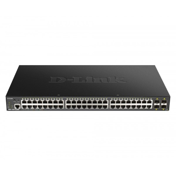 Cabinet Switch D-Link DGS-1250-52XMP 48x 370W Black