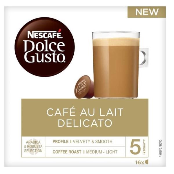 Coffee Capsules Nescafé Dolce Gusto Au Lait Delicato (16 uds)