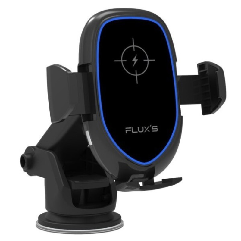 Car Charger Flux's Wireless Black 10W