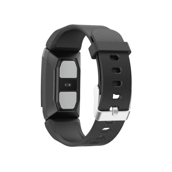 "Pulsera de Actividad KSIX Thermometer HR 1,4"" Bluetooth 90 mAh Negro (2)"