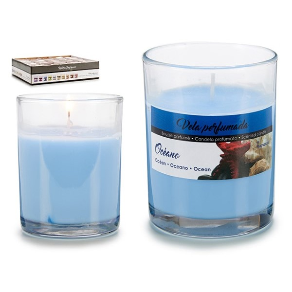 Scented Candle Ocean (7 x 8,3 x 7 cm)