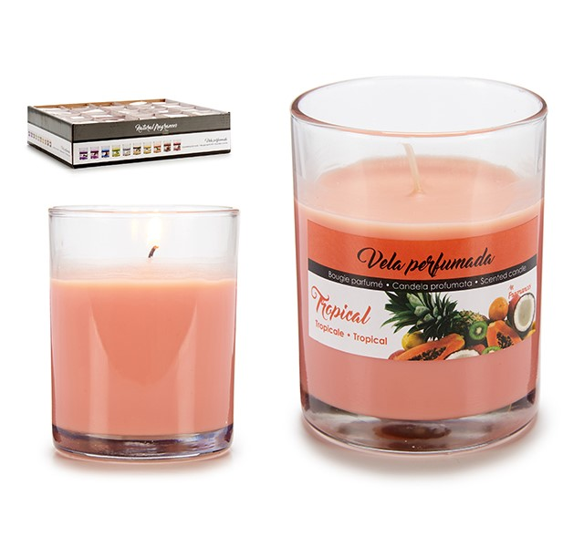Scented Candle Tropical (7 x 8,3 x 7 cm)