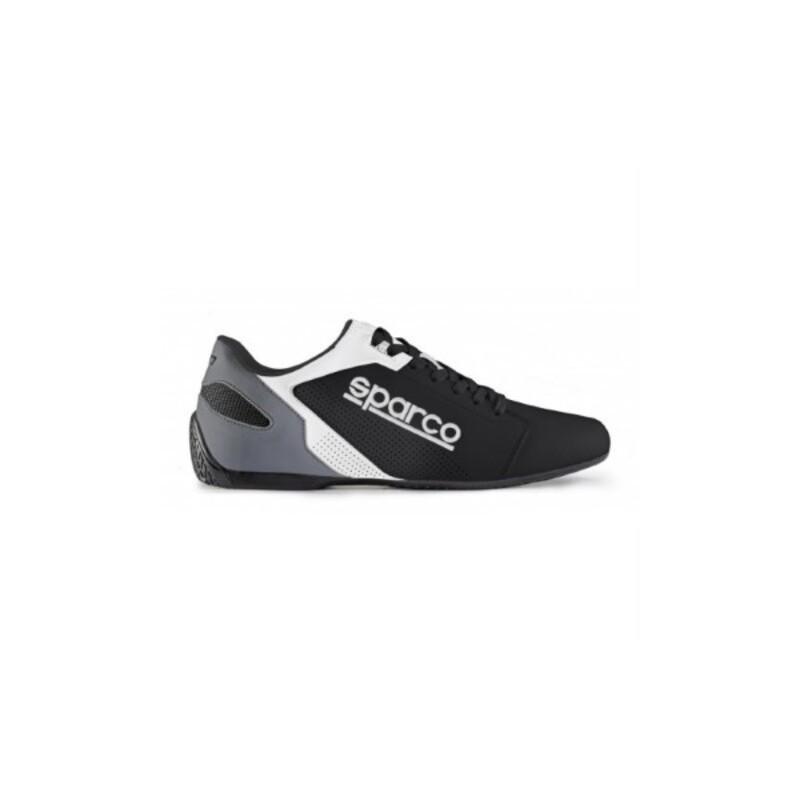 Casual Trainers Sparco SL-17 Black White