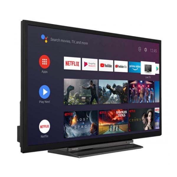 "Smart TV Toshiba 24"""" HD Ready LED WiFi Nero"