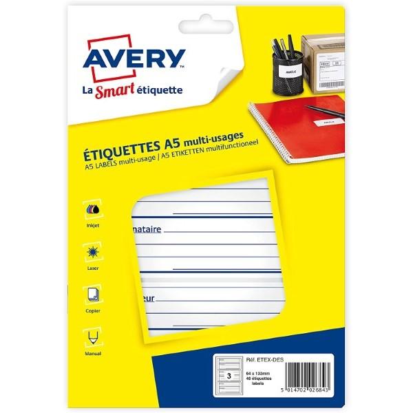 Adhesives/Labels White (48 pcs) (Refurbished A+)