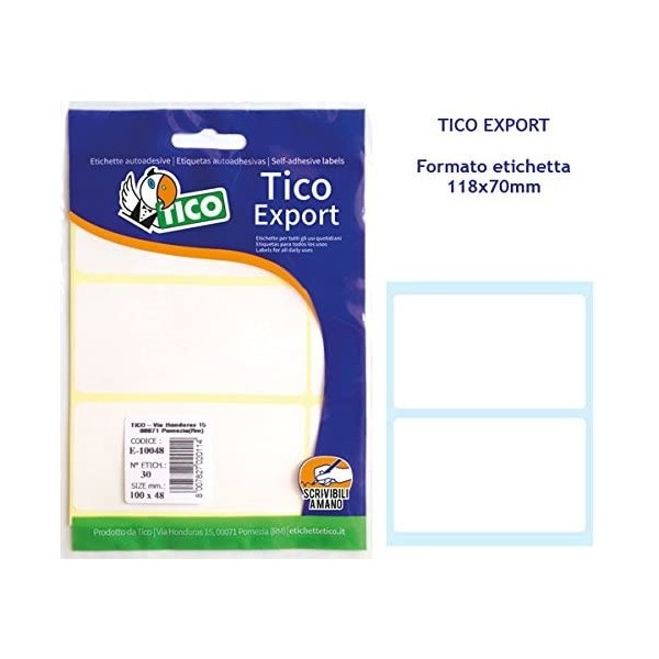 Labels E-11870A Multi-use (20 pcs) (Refurbished D)