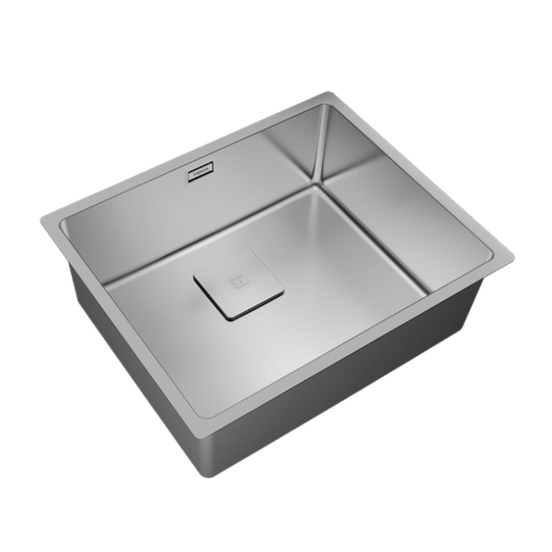 Sink with One Basin Teka Flexlinea RS15 50.40 Stainless steel