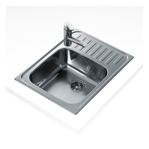 Sink with One Basin Teka 9059 CLASSIC 1C Stainless steel