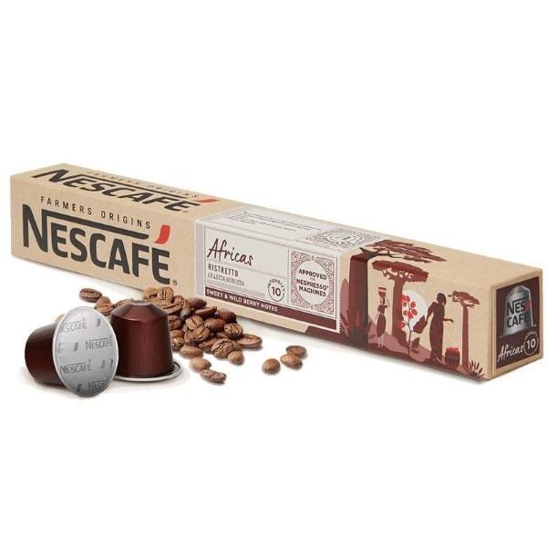 Coffee Capsules FARMERS ORIGINS Nescafé AFRICAS (10 uds)