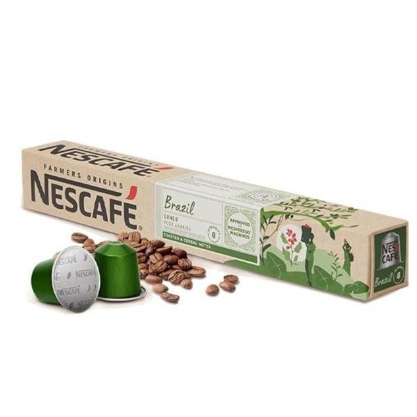 Coffee Capsules FARMERS ORIGINS Nescafé BRAZIL (10 uds)