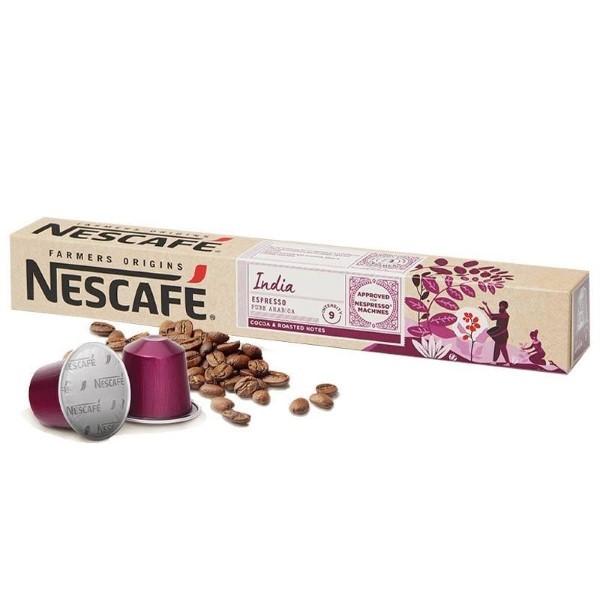 Coffee Capsules FARMERS ORIGINS Nescafé INDIA (10 uds)