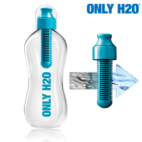 Only H2O Bottle with Carbon Filter