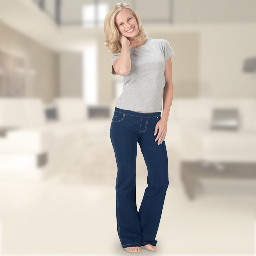 Pantalón Confort Jeans Fashinalizer